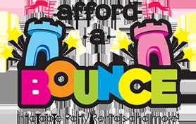 bounce house party rental company logo