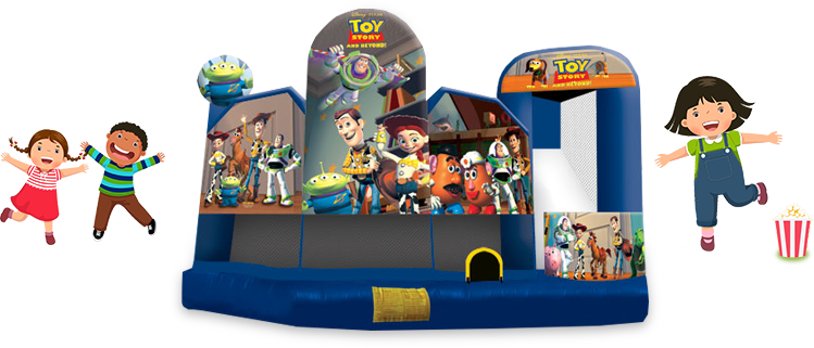 Toy Story bounce house for rent
